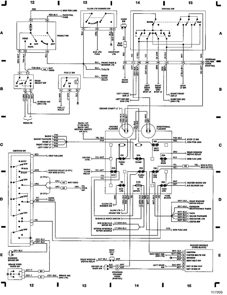 yj radio wiring diagram schemes